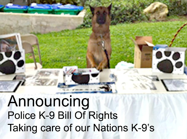 Police k-9 Bill Of Rights